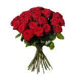 Bukett med 30 st röda rosor. Skicka rosorna med blomsterbud från Interflora och gör någon riktigt glad!