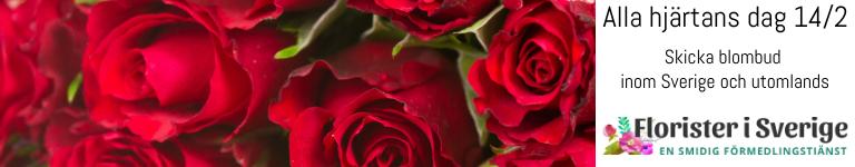 Beställ blomsterbud, chokladbud och nallebud hos Florister i Sverige!